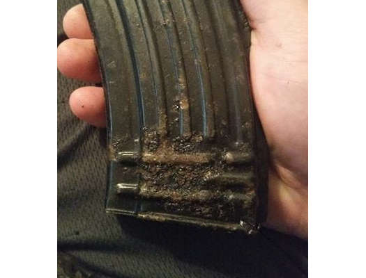 Russian 40 Round AK47 Magazine - Fair - 7.62x39mm