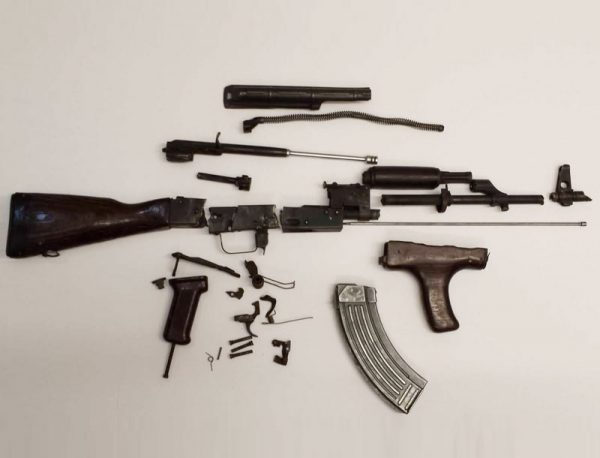 Romanian AKM Parts Kit - Fair Condition