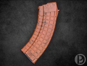 """Dirty Bakelite"" Cerakote Bulgarian Circle 10 AK-47 30 Round Magazine - 7.62x39mm"