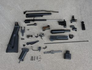 Bulgarian Circle 10 AK-74 Parts Kit - Black - 5.45x39mm