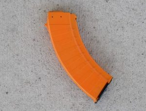 "Bulgarian ""Bullet"" AK-47 30 Round Magazine - 7.62x39mm - Orange"