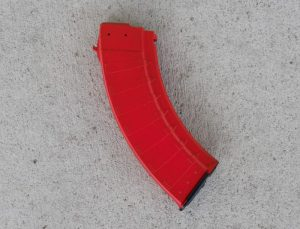 "Bulgarian ""Bullet"" AK-47 30 Round Magazine - 7.62x39mm - USMC Red"