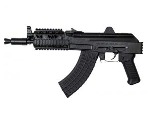 Arsenal SAM7K Pistol 7.62x39mm Milled Receiver with Picatinny Quad Rail