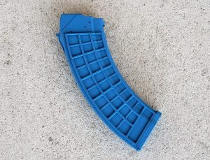 """Blue Waffle"" XTech Tactical MAG47 – 30 Rounds – 7.62x39mm"