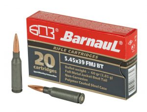 Barnaul 5.45x39mm - 60gr FMJ - 20rnd Box