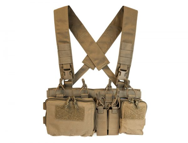 Haley Strategic Partners D3CRX Heavy Chest Rig - Coyote Brown