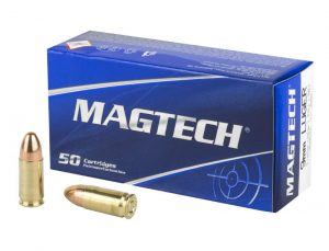 Magtech 9x19mm - 115gr FMJ - 50nd Box
