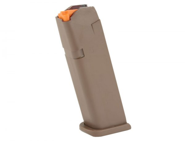 Glock 17 Gen 5 Magazine - 9x19mm - 17 Rounds - FDE