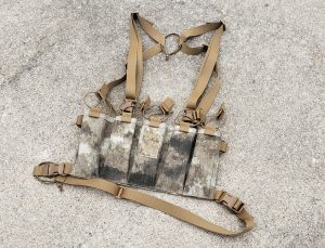 Circle 10 AK Chest Rig - 5 Cell - A-TACS AU
