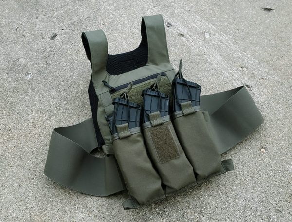 Circle 10 AK Chest Rig - 3 Cell - Ranger Green