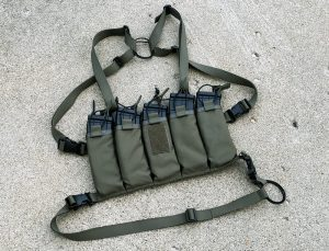 Circle 10 AK Chest Rig - 5 Cell - Ranger Green