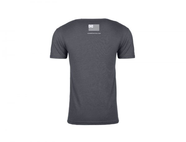 "Vickers Tactical T-Shirt ""Adapt or Die"" - Gray"