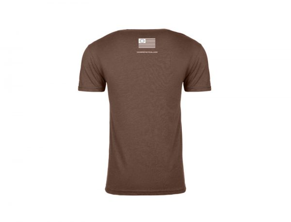 """Vickers Tactical T-Shirt """"Adapt or Die"""" - Espresso"""