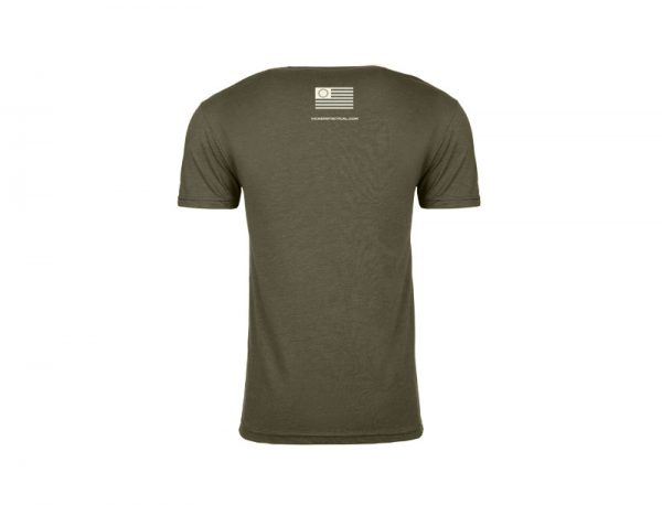 "Vickers Tactical T-Shirt ""Adapt or Die"" - OD Green"