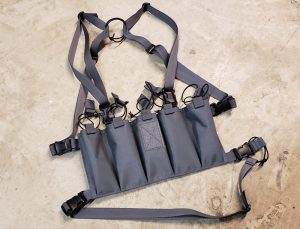 Circle 10 AK Chest Rig - 5 Cell - Wolf Gray